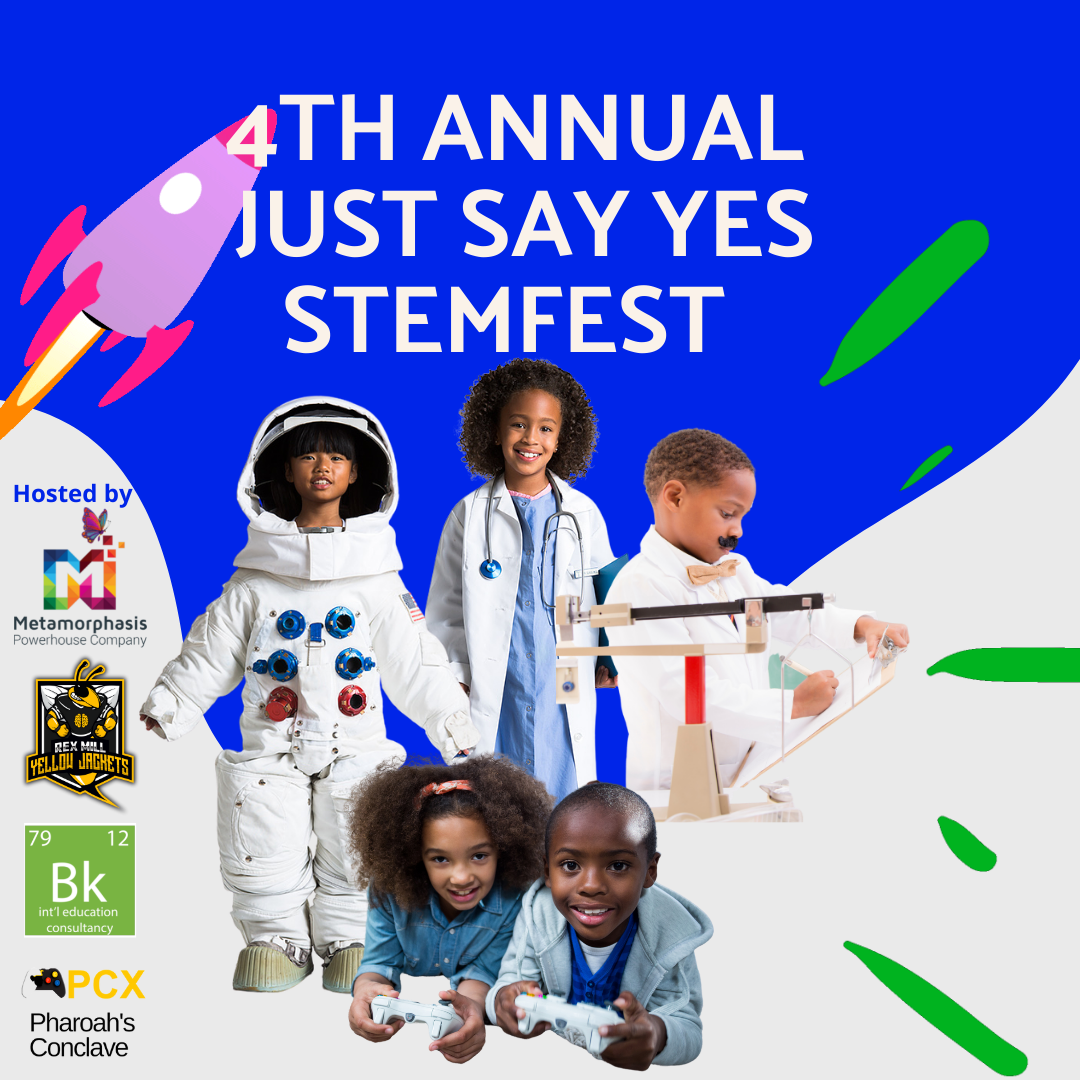 4th Annual Just Say YES STEMFEST LOGO