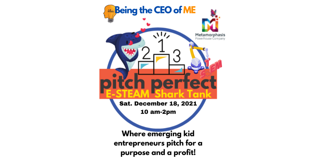 Eventbrite_Being The CEO of ME Pitch Perfect Shark Tank logo