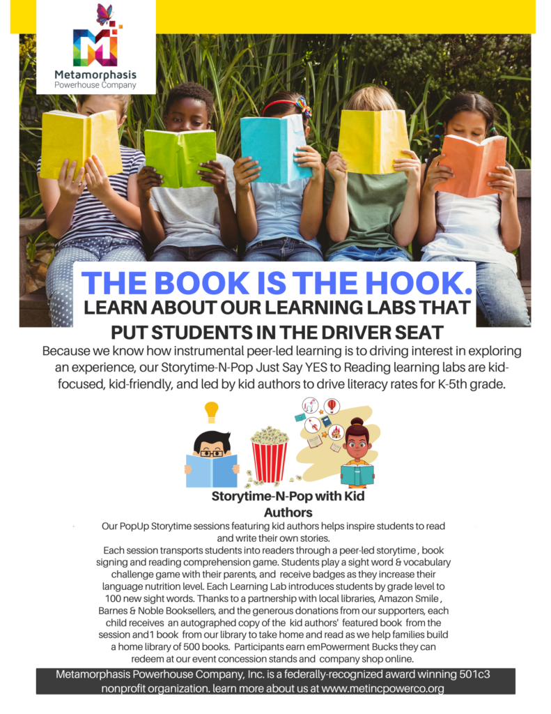MetIncPowerCo_Just Say YES to Reading Program_Community Learning Lab Fact Sheet_COVID Response_Pg3