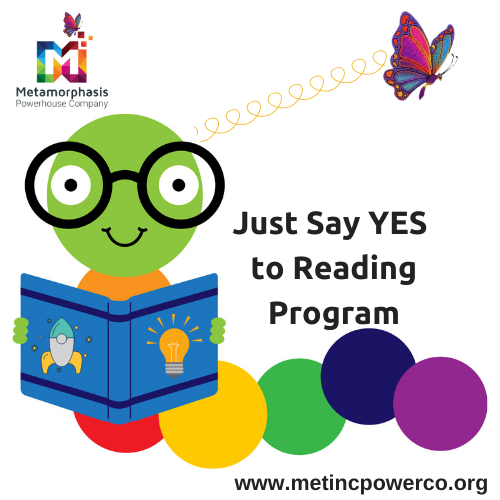 MetIncPowerCo_Just Say YES! to Reading logo
